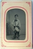 Click to view larger image of Tintype of Young Boy and Drum C.1860-70. (Image2)