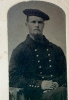 Click to view larger image of Tintype of U.S. Sailor - Civil War or shortly after. (Image2)