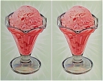 Click here to enlarge image and see more about item 4348: Vintage Soda Fountain Sign ICE CREAM Press Sheet 1950
