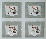 Click to view larger image of 1950 Baseball Poster Press Sheet - Cool! (Image1)