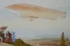 Click to view larger image of Montaut pochoir dirigible Republic, Panhard & Levassor (Image3)