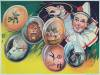 Click to view larger image of Vintage Circus Poster C.1930 Clown with Balloons (Image2)
