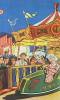 Click to view larger image of 1930's CIRCUS or CARNIVAL BUMPER CAR POSTER.  (Image2)