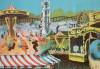 Click to view larger image of 1930 Circus Carnival Poster for Midway Rides (Image2)