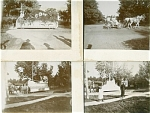 CABINET PHOTO –SET OF 6 AWESOME PARADE C.1898