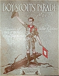 Click to view larger image of Sheet Music - Boy Scouts Parade. (Image1)