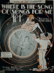 Sheet Music -SONG OF SONGS FOR ME- I. BERLIN.