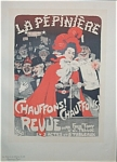 Click here to enlarge image and see more about item 4629: Antique MAITRES DE L'AFFICHE, 1899, PL 159 - Grun