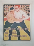 Click here to enlarge image and see more about item 4630: MAITRES DE L�AFFICHE, 1900, PL 224 - Rossenfosse.