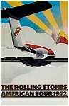 Click here to enlarge image and see more about item 7235: ROLLING STONES AMERICAN TOUR 72 POSTER - ORIGINAL