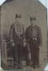 Click to view larger image of Tintype – Early firemen or street car conductors? (Image2)