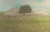 Click to view larger image of Antique Photograph � Lg oval photo of Farm � hand-tint. (Image4)