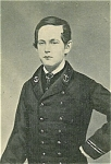 Click here to enlarge image and see more about item 4737: Carte de Visite � Young Naval Officer or Midshipman.