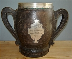 Click here to enlarge image and see more about item 4755: 1909 INDIAN HARBOR YACHT CLUB TROPHY Black Starr Frost