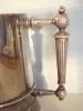 Click to view larger image of Antique Silver Plated Mug � Gorgeous Handle & Initials (Image2)