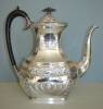 Click to view larger image of Antique Silver Plated Presentation Teapot – Wonderful. (Image4)