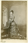 Cabinet Photo � Mrs. Shelton of Niles Michigan � superb