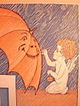"""Click here to enlarge image and see more about item 4811: Vintage Sheet Music 1927 """"Let A Smile Be Your Umbrella"""""""