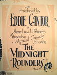 Click to view larger image of Vintage Sheet Music �I WANT MY MAMMY� Eddie Cantor 1921 (Image3)