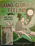 Click to view larger image of Sheet Music �Ain�t that a Grand and Glorius Feeling� (Image2)