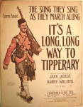 "Click to view larger image of WWI Sheet Music ""It's a long, long way to Tipperary"" (Image1)"