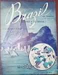 Click to view larger image of Sheet music: BRAZIL - Disney - SALUDOS AMIGOS. (Image1)