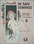 Click to view larger image of Sheet music: IN SAN DOMINGO. (Image1)