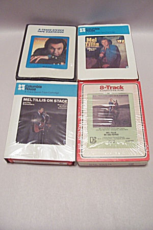 Lot Of 4 Mel Tillis 8-Track Music Tapes (Image1)
