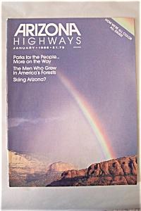 Arizona Highways, Vol. 62, No. 1, January 1986 (Image1)