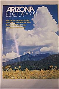 Arizona Highways, Vol. 62, No. 6, June 1986 (Image1)
