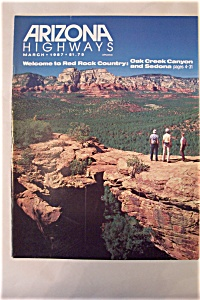 Arizona Highways, Vol. 63, No. 3, March 1987 (Image1)