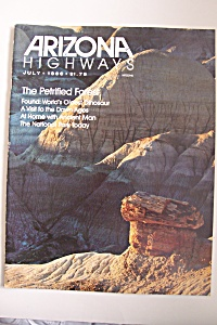 Arizona Highways, Vol. 62, No. 7, July 1986 (Image1)