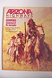 Arizona Highways, Vol. 62, No. 9, September 1986 (Image1)