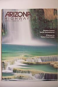 Arizona Highways, Vol. 64, No. 4, April 1988 (Image1)