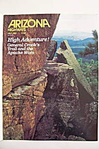 Arizona Highways, Vol. 58, No. 7, July 1982 (Image1)