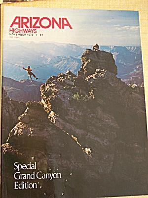 Arizona Highways, Volume 54, No. 11, November 1978 (Image1)