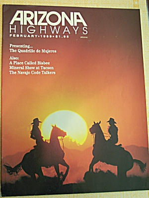 Arizona Highways, Volume 65, No.2, February  1989 (Image1)