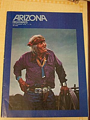 Arizona Highways, Volume 54, No. 9, September 1978 (Image1)