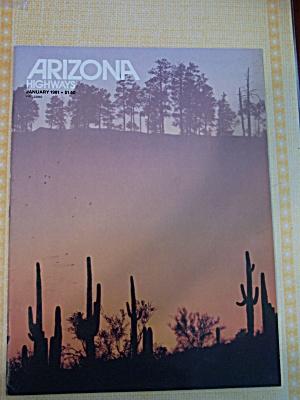 Arizona Highways, Volume 57, No. 1, January 1981 (Image1)