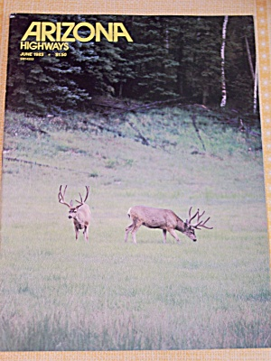 Arizona Highways, Volume 59, No. 6, June 1983 (Image1)