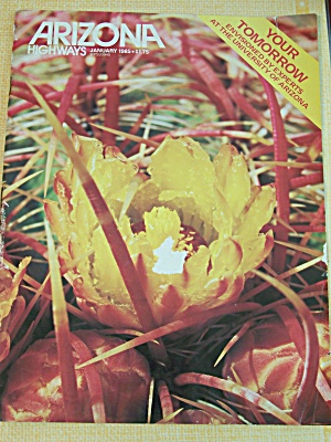 Arizona Highways, Volume 61, No. 1, January 1985 (Image1)