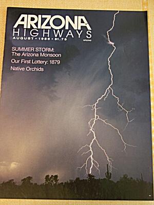 Arizona Highways, Volume 62, No. 8, August 1986 (Image1)