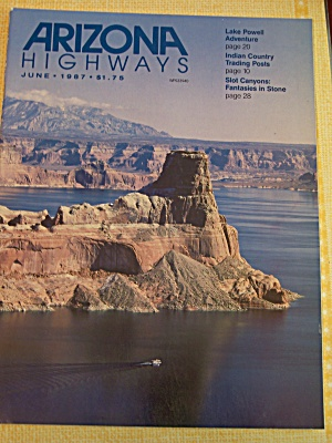 Arizona Highways, Volume 63, No. 6, June 1987 (Image1)
