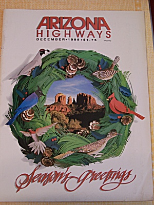 Arizona Highways, Volume 64, No. 12, December 1988 (Image1)