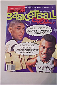 Beckett Basketball Card Monthly, Vol.8, No.9, Issue#86 (Image1)