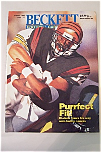 Beckett Football Card Monthly, Vol.7, No.8, Issue #65 (Image1)