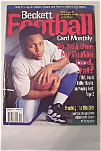 Beckett Football Card Monthly, September 1997, Issue#90 (Image1)