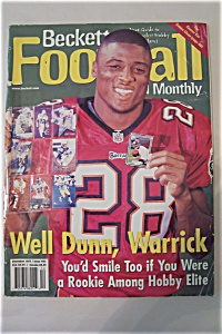 Beckett Football Card Monthly, December 1997, Issue#93 (Image1)