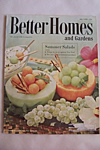Better Homes & Garden, Vol. 36,No.9,July 1958 (Image1)
