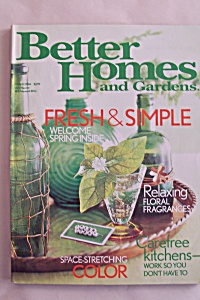Better Homes & Gardens, Vol.82, No.3, March 2004 (Image1)